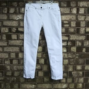 Eileen Fisher white jeans size 10P